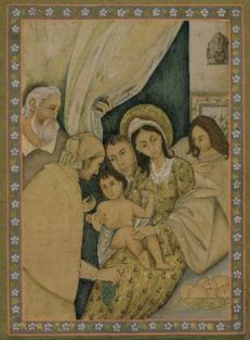 North India Madonna and Child
