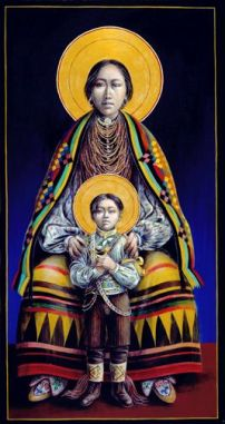 Seminole Madonna and Child